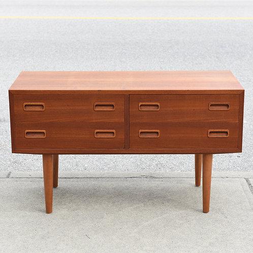 Mid-Century Danish Modern Teak Mini Dresser