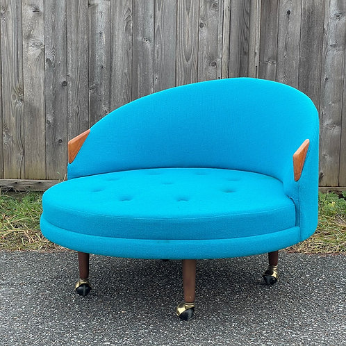 (AS-IS)Vintage Havana Lounge Chair by Adrian Pearsall