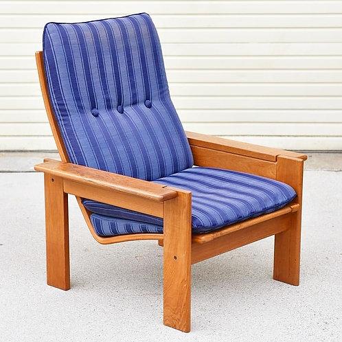 Danish teak lounge chair by Komfor