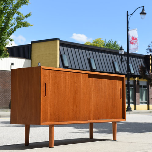 Danish Teak Credenza/Sideboard by Carlo Jensen for A/S Hundevad & Co.