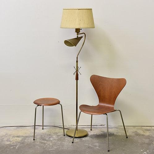 Vtg MCM Atomic Floor Lamp