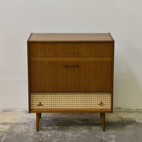 """Vintage """"Menuett"""" FM/AM/Turntable Stereo Console by Nordemende"""
