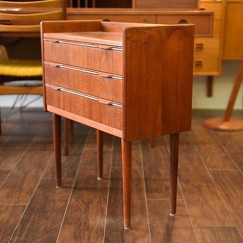 Adorable MCM Teak Mini Dresser by Knud Nielsen