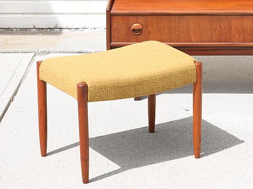 Swedish Mid Century Modern Footstool
