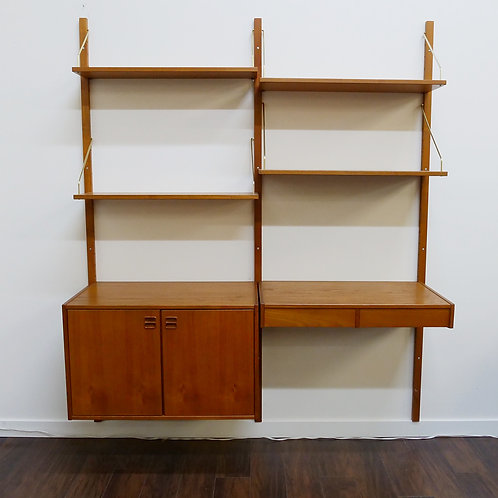 Danish Teak Modular Wall Unit