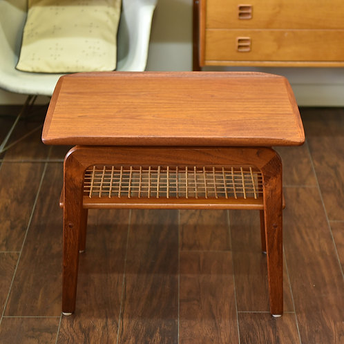 15%OFF, Vintage Teak Side Table in Style of Arne Hovemand-Olsen