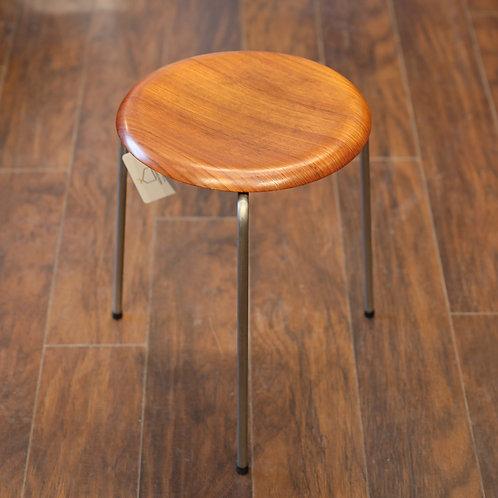 Iconic vintage dot stool by Arne Jacobsen for Fritz Hansen