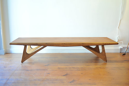 Adrian Pearsall Style Surfboard Coffee Table/Bench