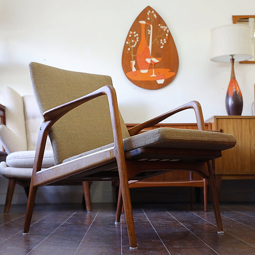 20%OFF, Danish Modern Teak  Easy Chair by Horsnaes Møbler