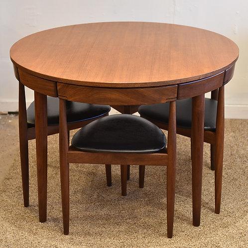 Iconic Danish Modern Hans Olsen's  Dining Set for Frem Rojle