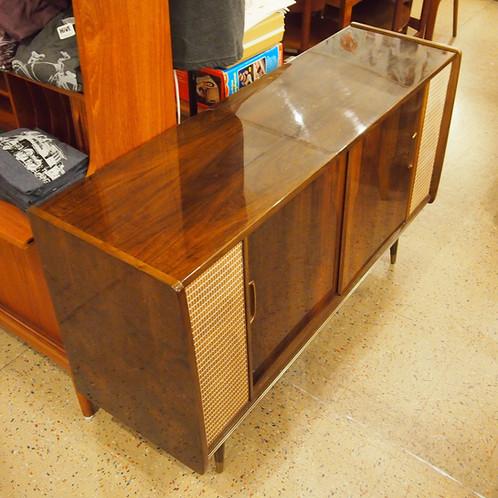 Vintage Loewe Opta Stereo Console Sideboard Credenza