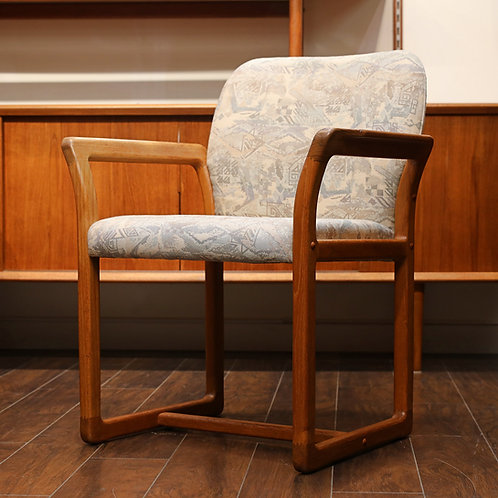 Vintage MCM Teak Arm Chair by Benny Linden