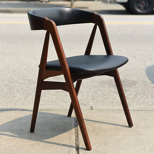 Danish Modern Side Chair by Th. Harlev for Farstrup Stolefabrik