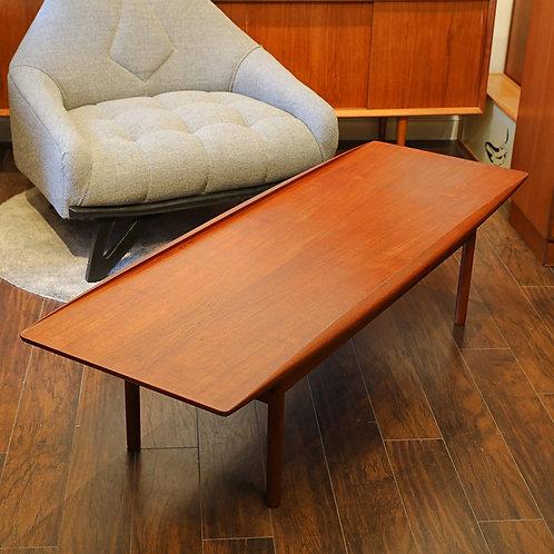 RARE! Danish Modern Teak PJ106 Coffee Table by Grete Jalk for P. Jeppesen