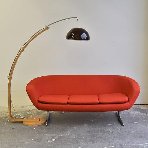 Danish Teak Arc Lamp