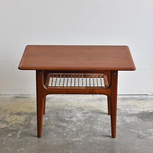 Vtg Mid-Century Modern Teak Side Table by Trioh, Denmark