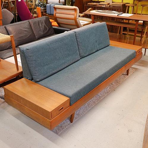 Vintage MCM Teak Platform Sofa