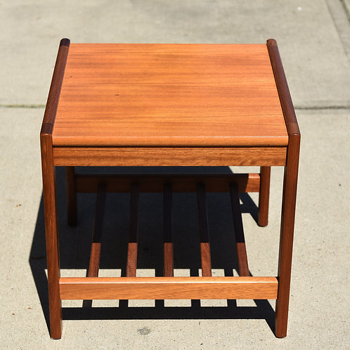 Vintage Teak Side Table
