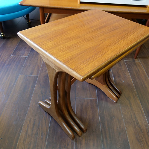 G Plan teak nesting coffee tables