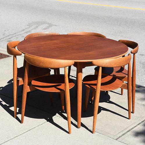 Fabulous Dining Set Designed by Hans J. Wegner