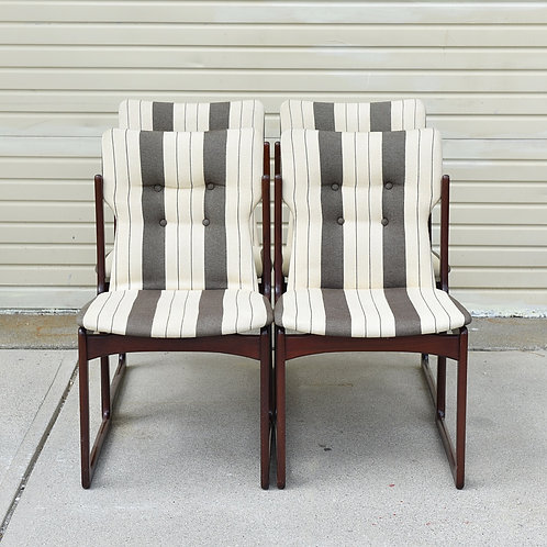Set of 6 Rosewood Dining Chairs by A/S Vamdrup Stolefabrik