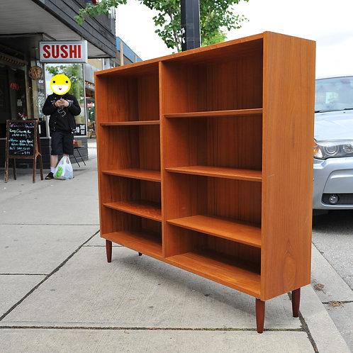 Vintage Teak Bookshelf