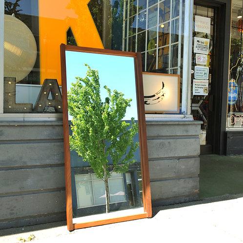 MCM Teak Framed Mirror