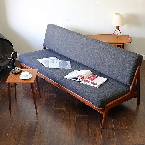 Danish Teak Arne Wahl Iversen's Daybed Sofa