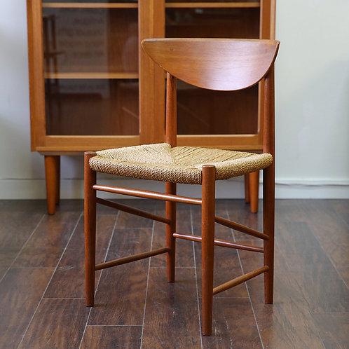 Danish Modern Model 316 Teak Side Chair by Søborg Møbelfabrik