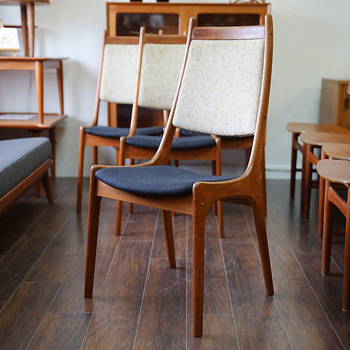 Set of 4 Canadian MCM Teak Dining Chairs