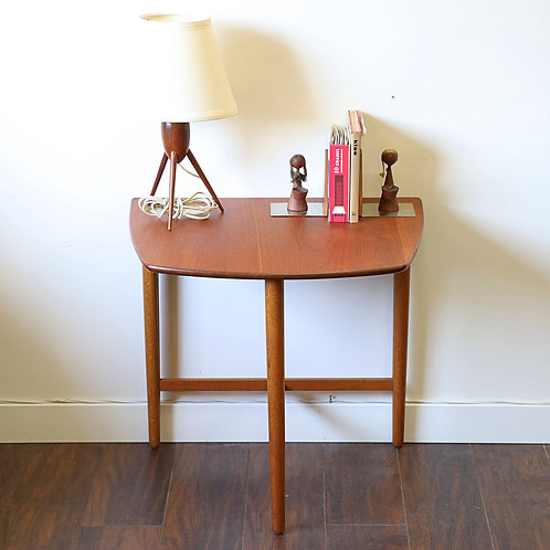 Danish Modern Teak Side Table by Fritz Hansen
