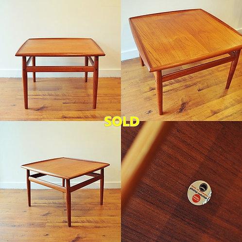Danish Modern Side Table by Grete Jalk