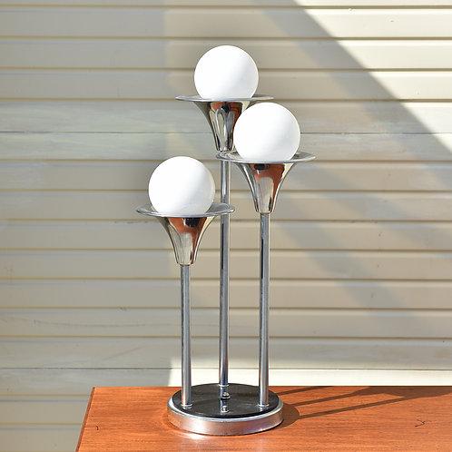 30%Off, Amazing Chrome MCM Lamp by Tony Paul