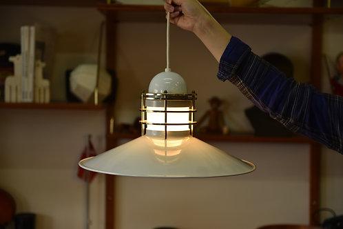 Vintage Louis Poulsen Style Pendant Lamp
