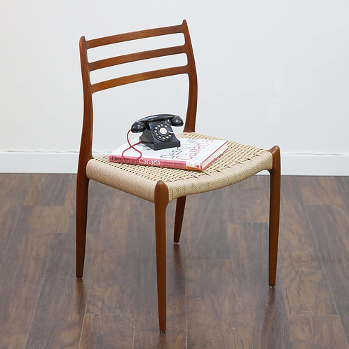 Niels Moller #78 chair in excellent condition.