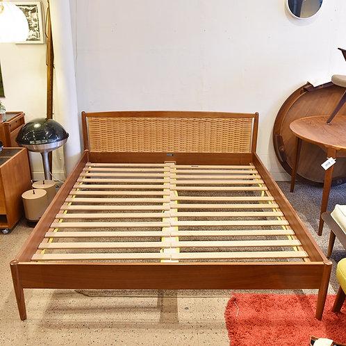 25%OFF, Danish Modern Teak Bed Frame by Dyrlund