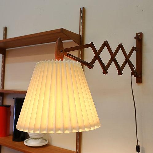 Vintage Le Klint Style Scissors Wall Mount Lamp