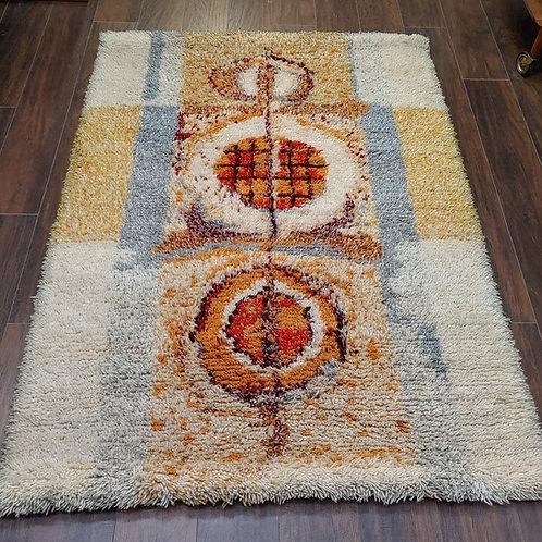 Vintage Wool Rug / Wall Decor 148x108cm