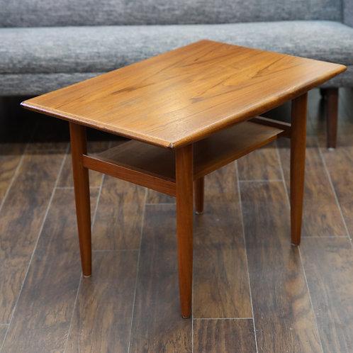 Vintage MCM Teak Side Table