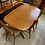 Thumbnail: Danish Teak Oval Dining Table with 2 Leaves by Gudme Mobelfabrik
