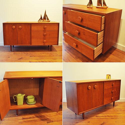 Vtg Teak Sideboard/Cabinet