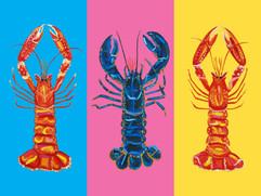 Lobster Pop Art