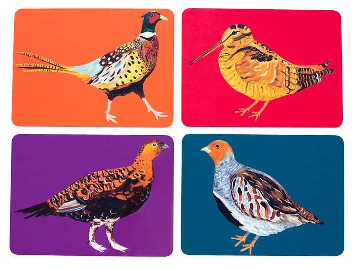 Game Birds Placemats