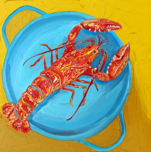 Lobster in a Pot (sold)