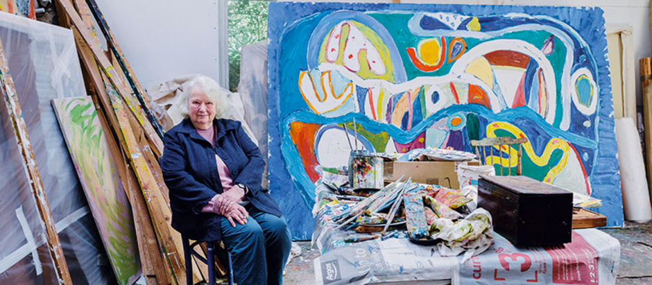 Gorgeousness by Gillian Ayres