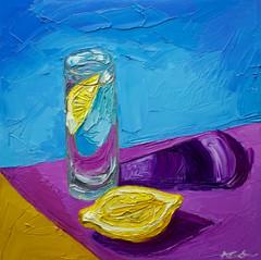 Lemon and a Glass