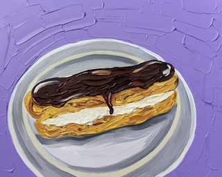 Eclair on Purple (available)