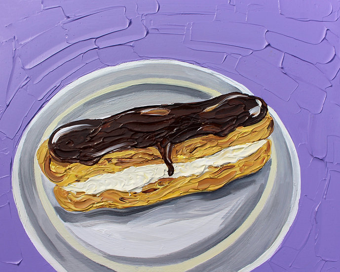 Chocolate Eclair Painting