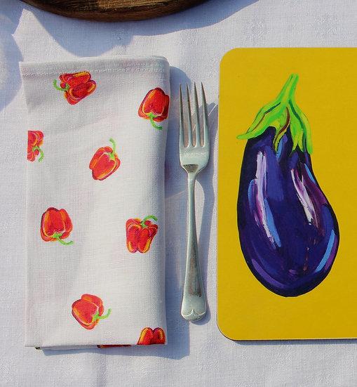 Peppers Linen Napkin