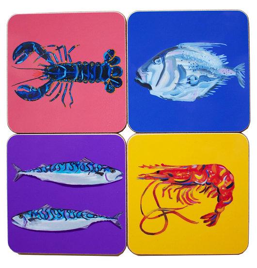 Fish Coasters